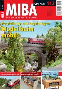 Modellbahn mobil – Ausstellungs- und Regalanlagen / MIBA Spezial 112