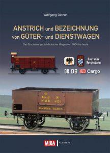 Anstrich und Bezeichnung von Güter- und Dienstwagen