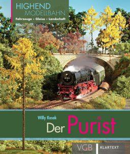 Der Purist – Highend Modellbahn – Fahrzeuge – Gleise Landschaft