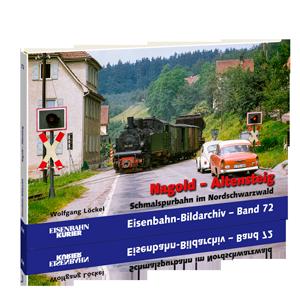 Nagold – Altensteig, Schmalspurbahn im Nordschwarzwald