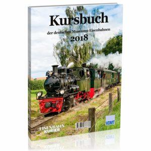 Kursbuch der deutschen Museums-Eisenbahnen – 2018