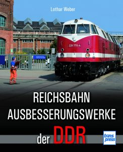 REICHSBAHN AUSBESSERUNGSWERKE der DDR