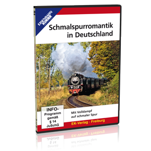 Schmalspurromantik in Deutschland – Mit Volldampf auf schmaler Spur (DVD)