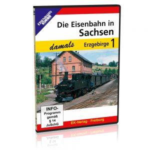DVD – Die Eisenbahn in Sachsen damals – Teil 1