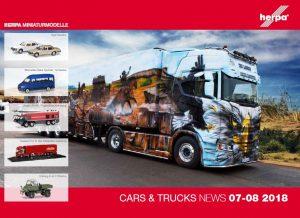 Herpa – Cars & Trucks 07/08 2018