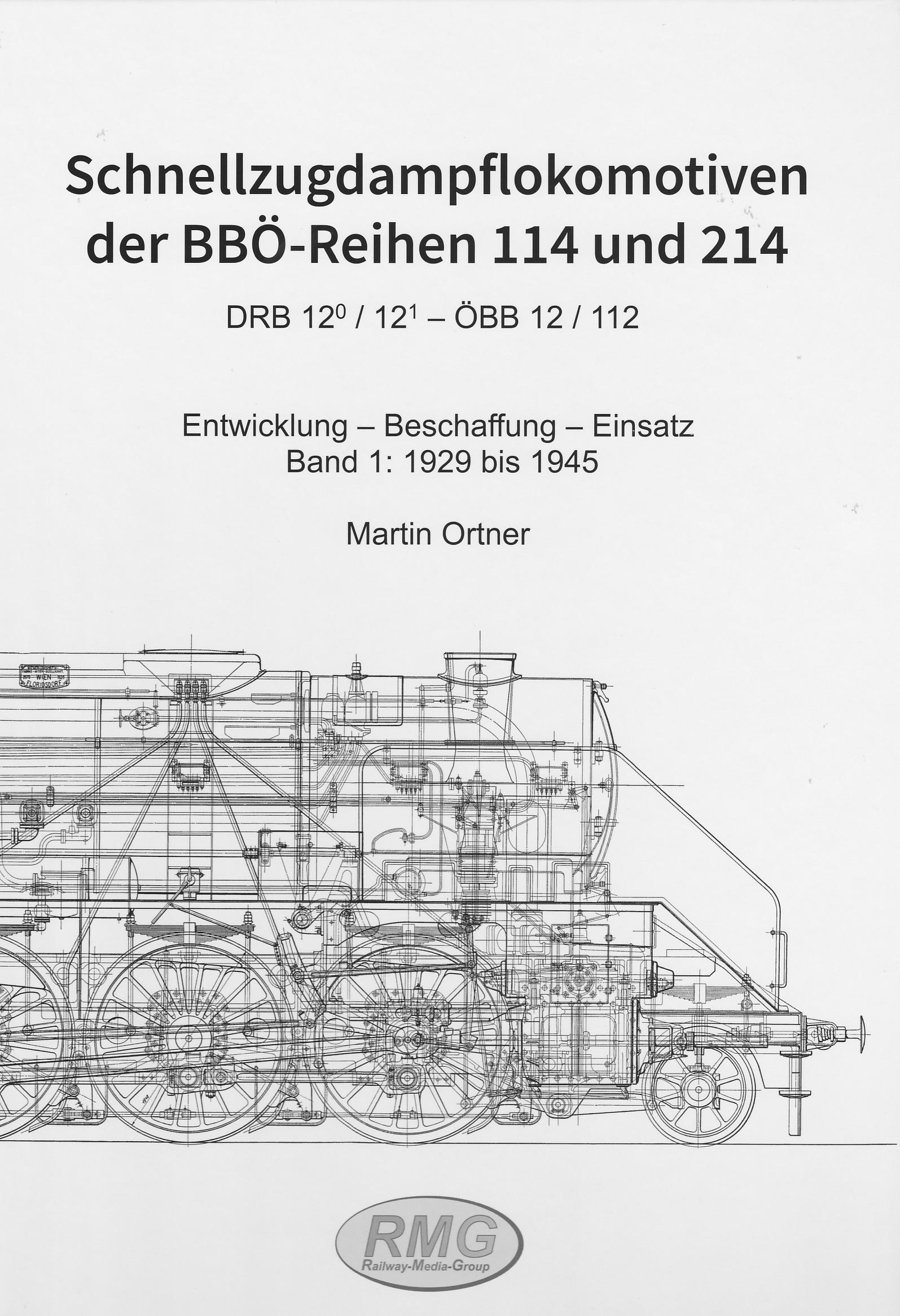 Schnellzugdampflokomotiven der BBÖ-Reihen 114 und 214