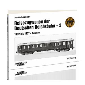 Reisezugwagen der Deutshen Reichsbahn – Band 2